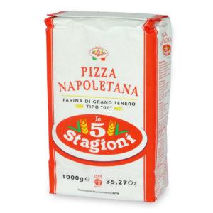 Le 5 Stagioni Pizza Napoletana 1000g Typ 00