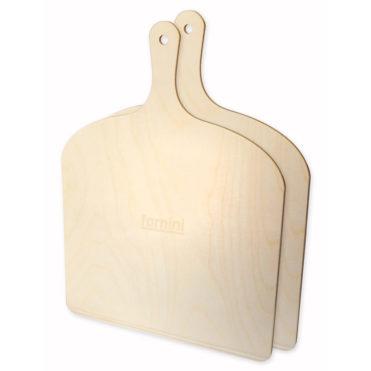 Fornini Pizzaschaufeln aus Holz im 2er Pack