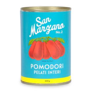 San Marzano Tomaten aus der Dose - geschält 400g